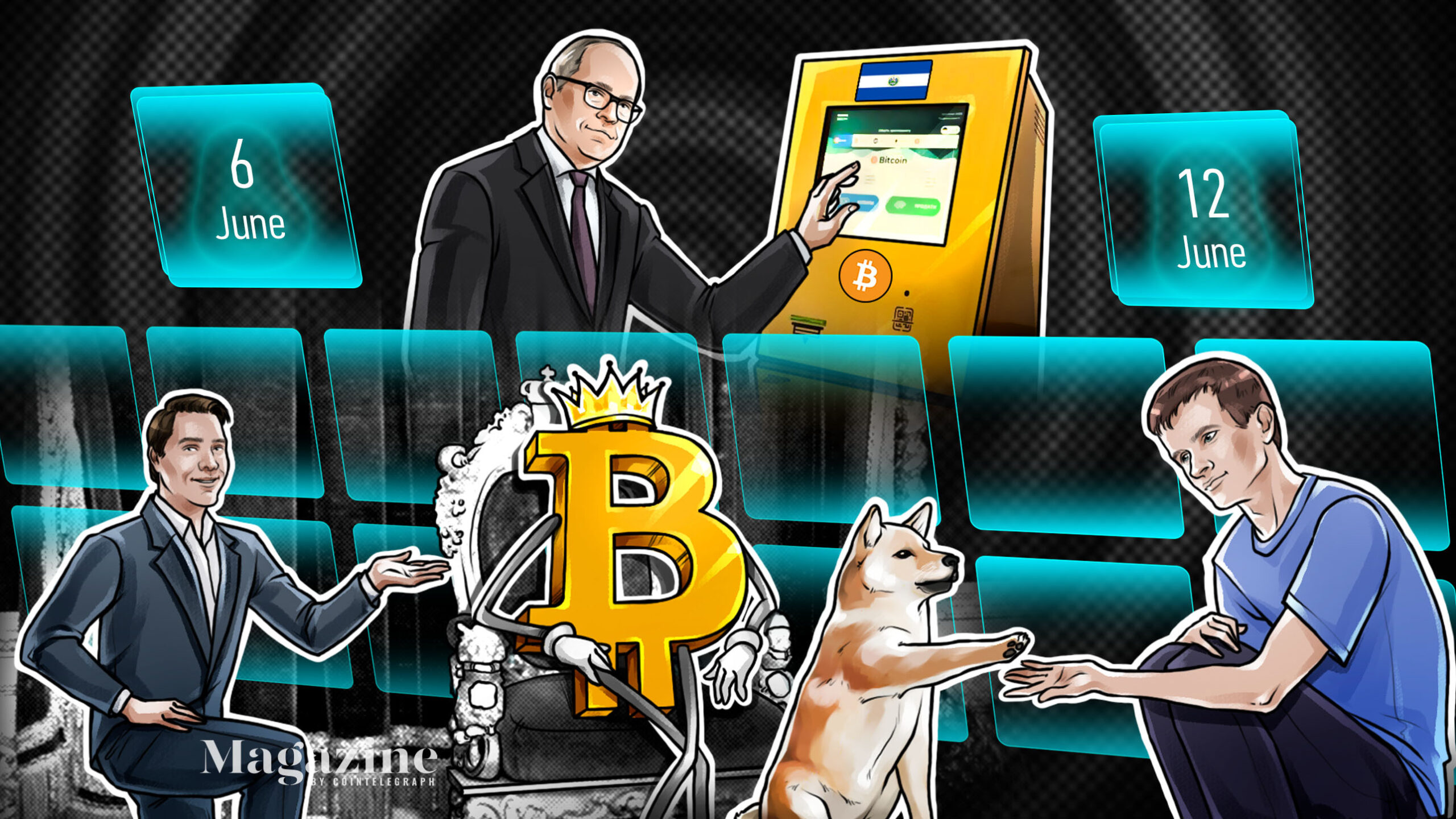 Bitcoin under threat, El Salvador rejected, Mark Cuban stung, McAfee 'has nothing'